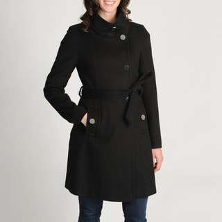 Tahari Women's 'Izzi' Wool-blend Belted Coat