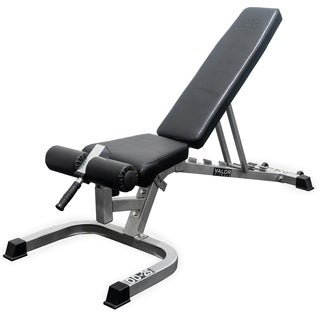 Valor Fitness DD-25 Adjustable Utility Bench FID with Wheels