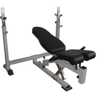 Valor Fitness BF-52 Olympic Bench w/Dual Positions