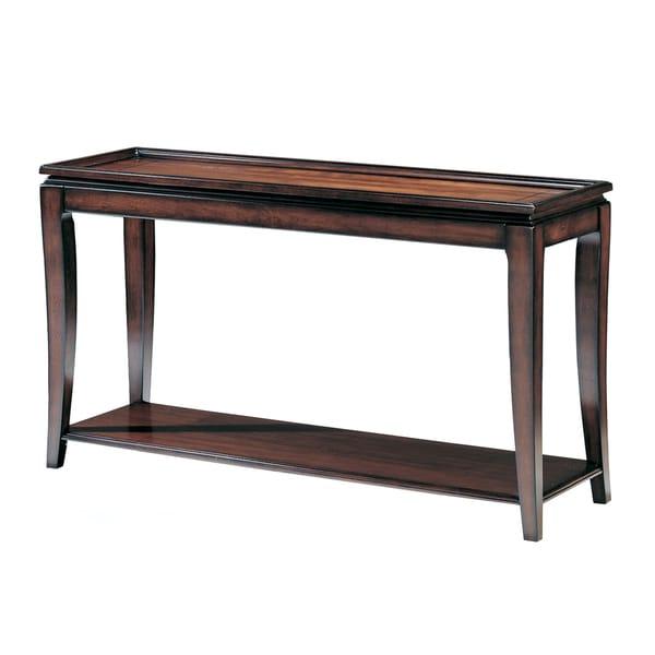 Mandarin Aged Mahogany Finish Sofa Table