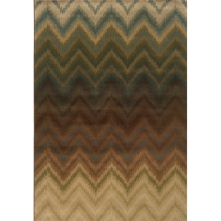 Indoor Brown/ Multi Area Rug