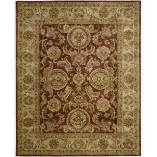 Nourison Hand-tufted Jaipur Cinnamon Wool Rug