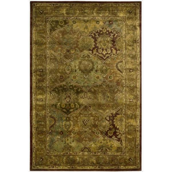 Nourison Hand-Tufted Persian-Inspired Jaipur Multi Wool Rug
