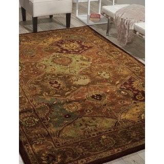 Nourison Hand-Tufted Persian-Inspired Jaipur Multi Wool Rug