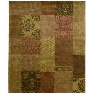 Nourison Hand-tufted Jaipur Multi Wool Rug