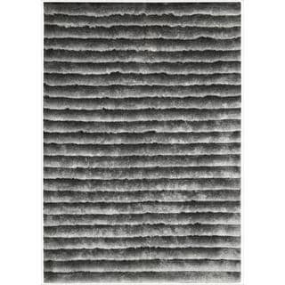 Nourison Hand-tufted Urban Safari Grey Rug (2'3 x 8')
