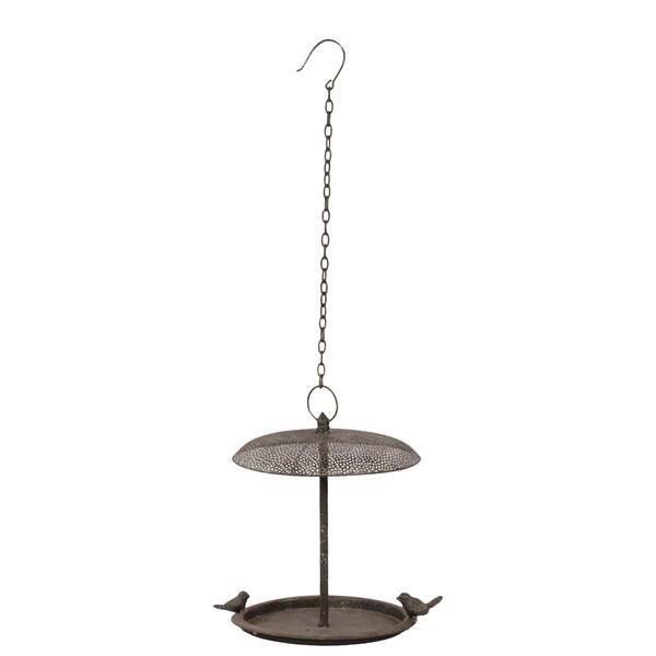 Urban Trends Collection 13-inch Metal Bird Feeder