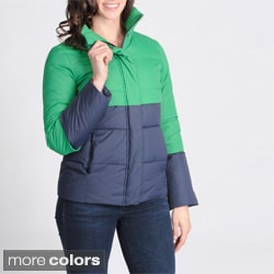 Tommy Hilfiger Women's Color-block Puffer Jacket
