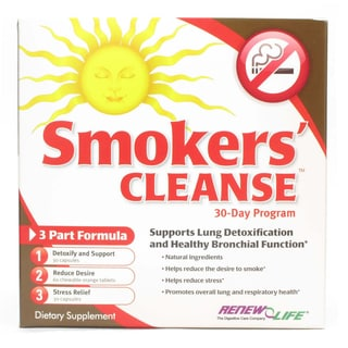 Renew Life Smoker's Cleanse Supplement Kit