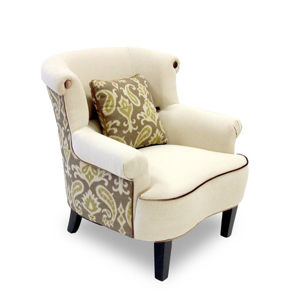 iKat Green and Cream Chair