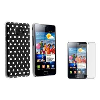 BasAcc Polka Dot Case/ Protector for Samsung Galaxy S 2 II/ S2 i9100