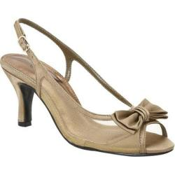 Women's Colorful Creations Debra Taupe Satin