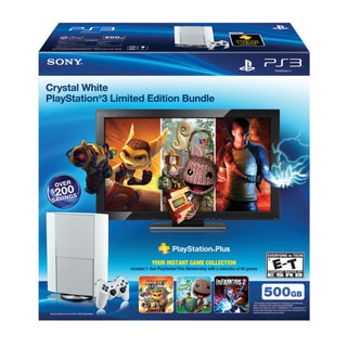 PS3 500GB SYSTEM BUNDLE 12 MO