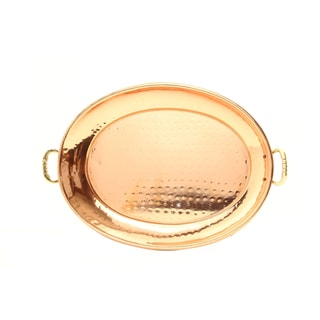 Old Dutch Oval Decor Copper Tray