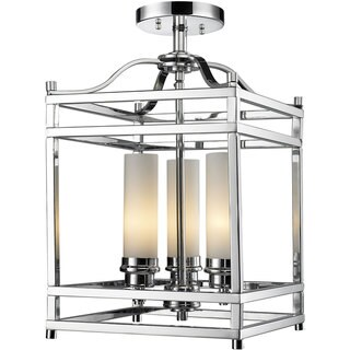 Altadore 3-light Chrome Chandelier