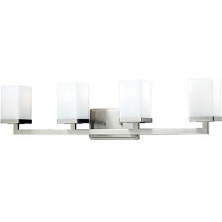 Tidal 4-light Brushed Nickel Wall Sconce