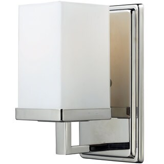 Tidal 1-light Brushed Nickel Wall Sconce