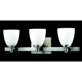 Dorsett 3-light Brushed Nickel Wall Sconce