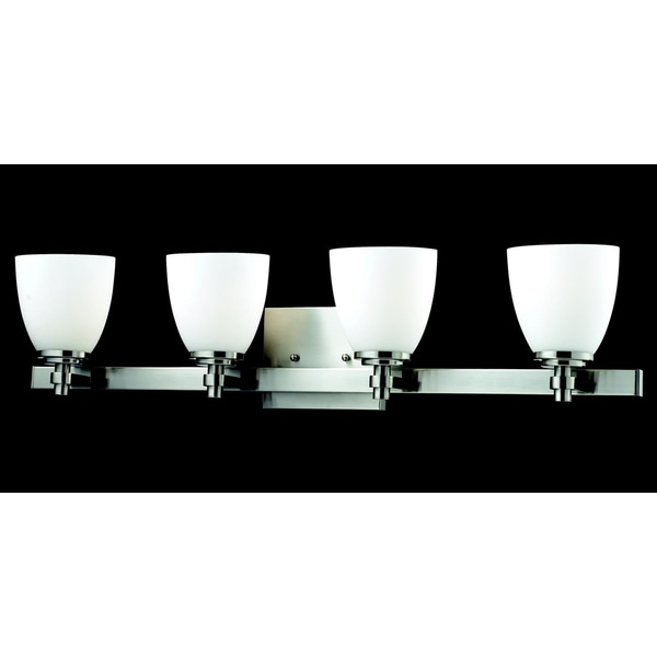 Dorsett 4-light Brushed Nickel Wall Sconce