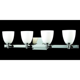 Dorsett 4-light Chrome Wall Sconce
