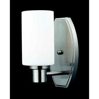 Adria 1-light Brushed Nickel Wall Sconce
