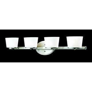 Chimera 4-light Brushed Nickel Wall Vanity