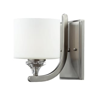 Avignon 1-light Satin Nickel Wall Sconce