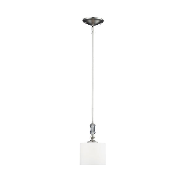 Avignon 1-light Satin Nickel Mini Pendant