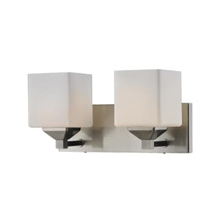 Quube Two-Light Vanity Fixture