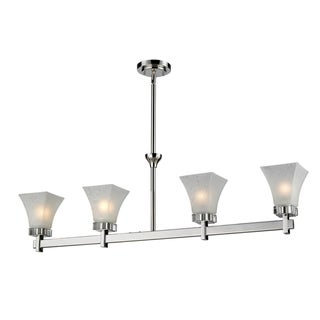 Pershing Four-Light Fixture