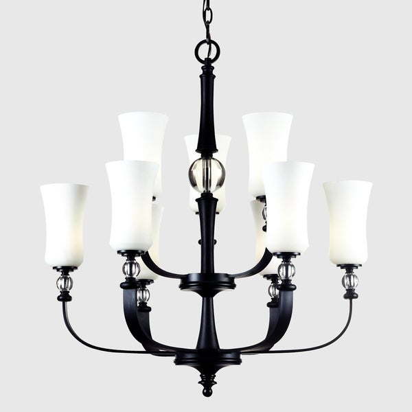 Harmony Nine Light Chandelier