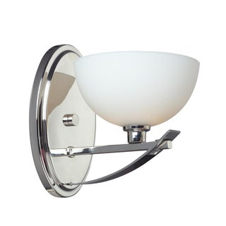 Ellipse 1-light Chrome Wall Sconce