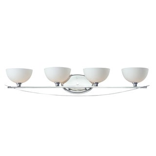 Ellipse 4-light Chrome Wall Sconce