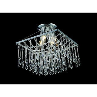 Palomar Chrome 4-light Wall-mount Fixture