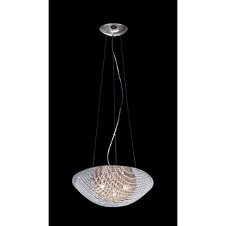 Athene Indoor Chrome 7-Light Crystal Chandelier
