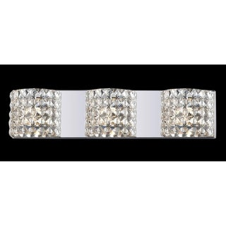 Panache Crystal-embellished 3-light Light Fixture