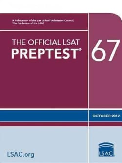 The Official Lsat Preptest 67: Oct. 2012 Lsat (Paperback)
