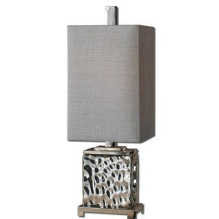 Bashan Contemporary Nickel-plated Table Lamp