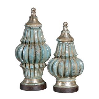 Fatima Decorative Urns (Set of 2)