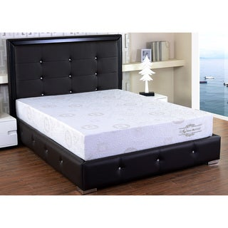 Herbal Fusion 10-inch Memory Foam Mattress