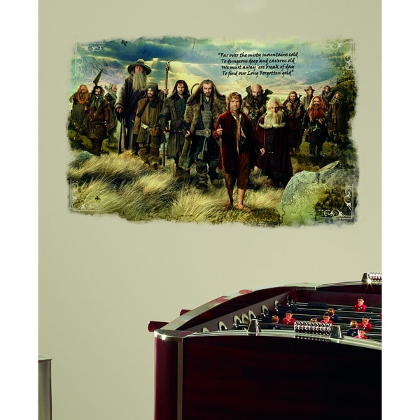 The Hobbit Mini Wall Mural