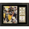 Pittsburgh Steelers Troy Polamalu Deluxe Photo/Stat Frame (11x14)