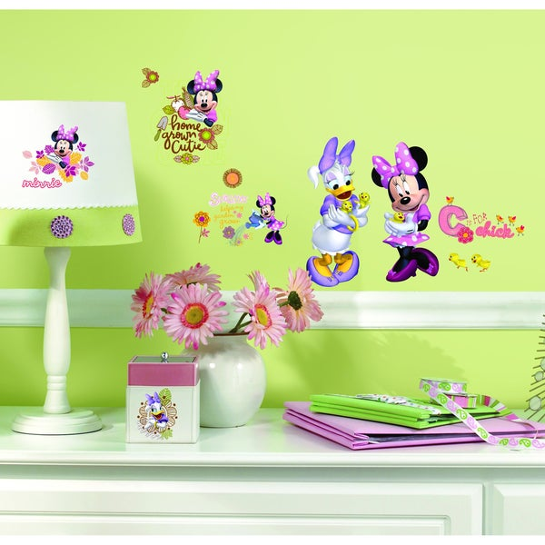 Mickey & Friends Minnie Mouse Barnyard Cuties Peel & Stick Wall Decal