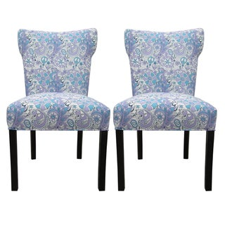 Bella Rosa Berries Upholstered Dining Chairs (Set of 2)