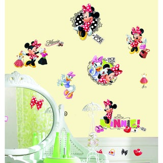 Mickey & Friends Minnie Loves to Shop Peel & Stick Wall Decal