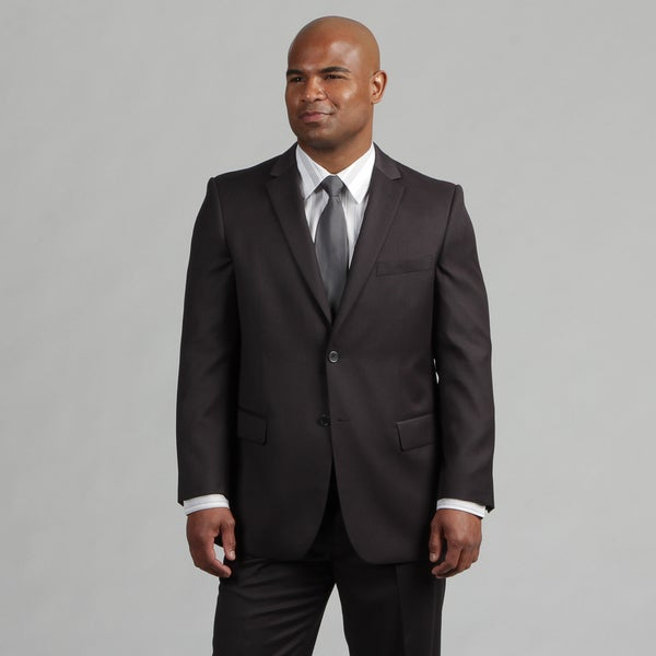 Angelo Rossi Men's Tailored Charcoal 2-Piece Suit