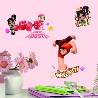 Wreck-It Ralph Peel and Stick Wall Decals Set