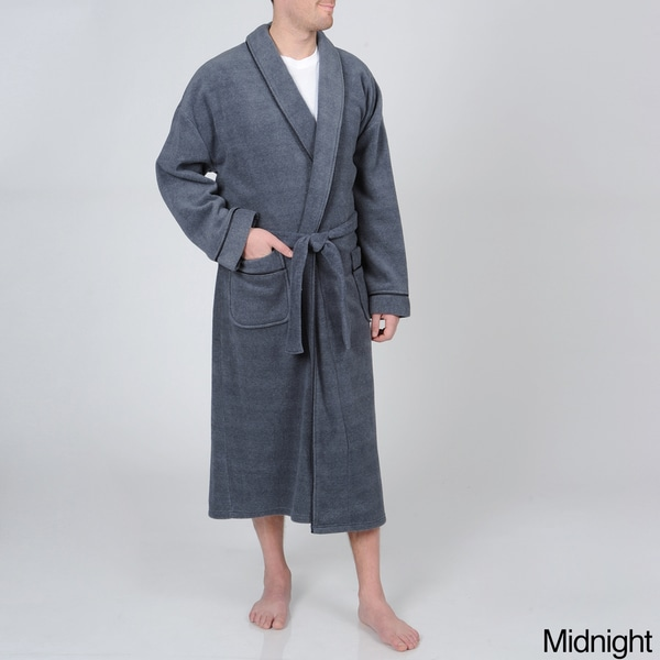 Ike Behar Men's Supersoft Plush Robe