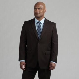 Angelo Rossi Men's Tailored Chocolate 2-piece Suit
