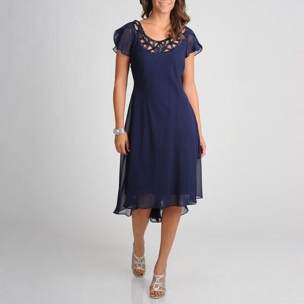 S.L. Fashions Women's Novelty Evening Dress